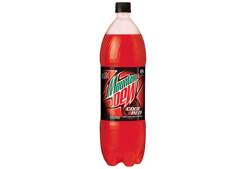 1.5L Mountain Dew Code Red